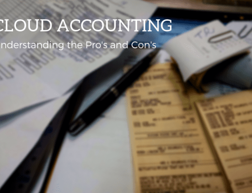 The Pros and Cons of Cloud Accounting