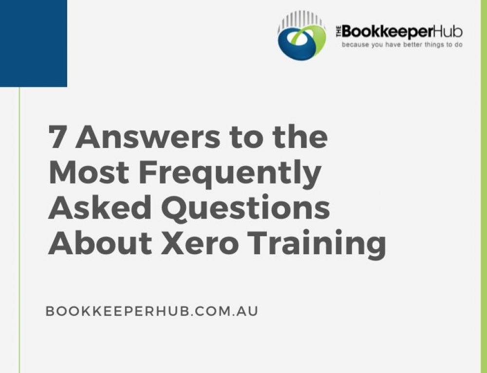 7 Answers to the Most Frequently Asked Questions About Xero Training