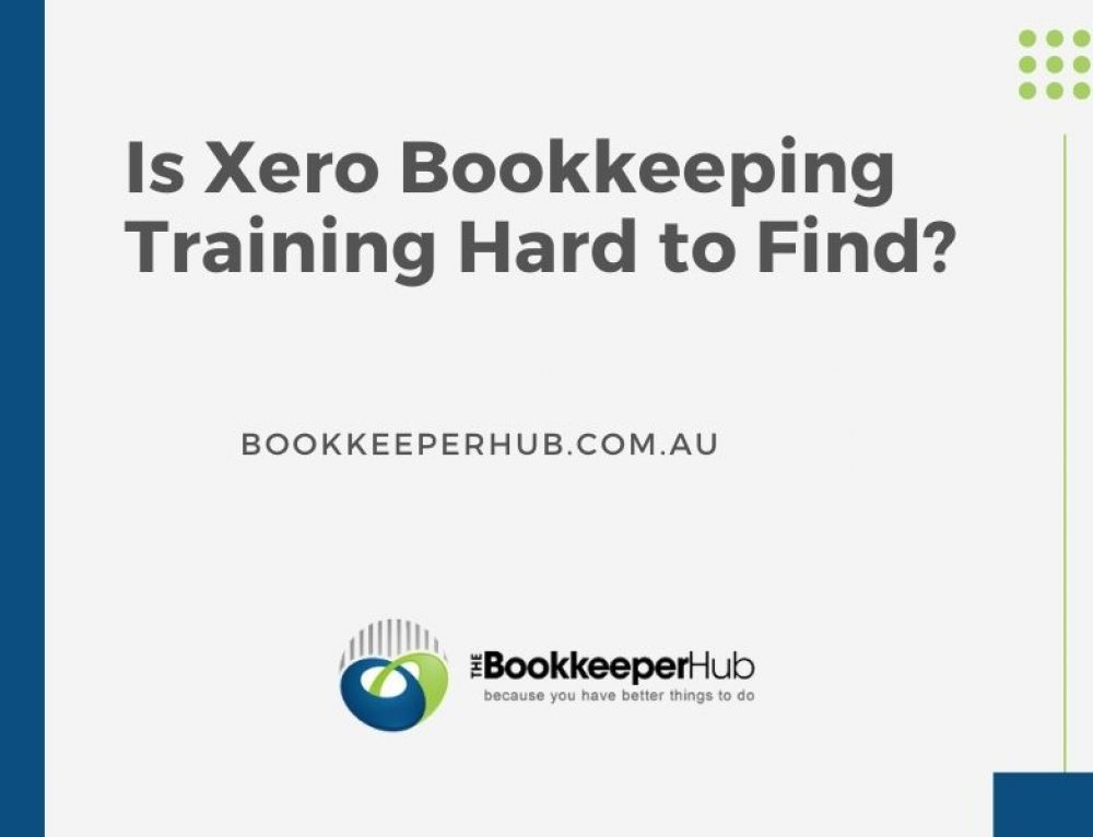 Is Xero Bookkeeping Training Hard to Find?