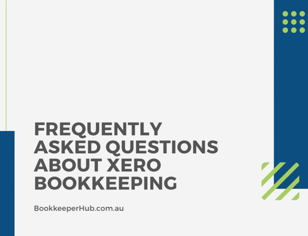 Frequently Asked Questions About Xero Bookkeeping