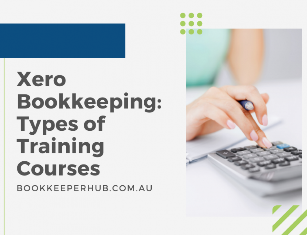 Xero Bookkeeping: Types of Training Courses